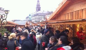 Julehygge på pladsen
