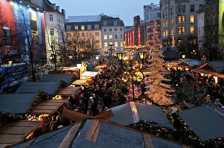 Weihnachtsmarkt Højbro Plads